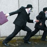 Bankers on the run